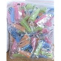 100 unidades de higiene boquillas multicolor (exterior)