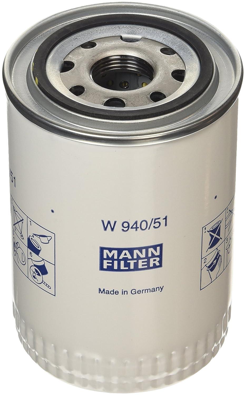 Mann Filter W94051 Schmierö lfilter MANN & HUMMEL GMBH W940/51