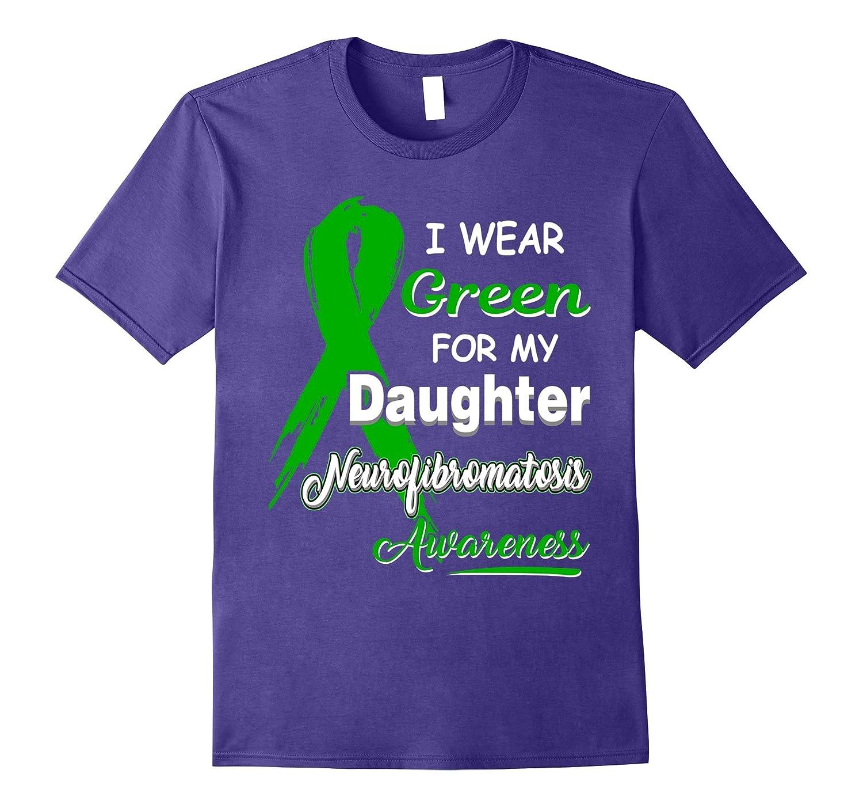 I Wear Green For Neurofibromatosis Awareness T-Shirt-CD