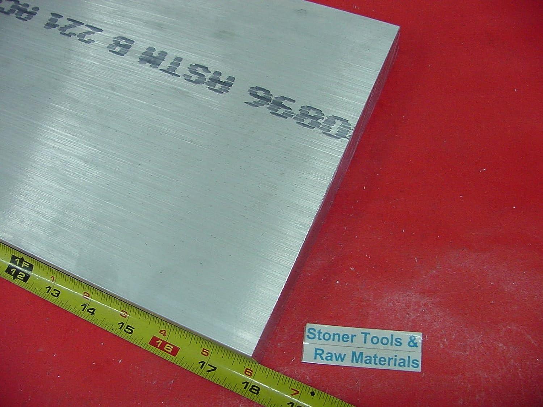 Raw Materials 1/2 X 12 ALUMINUM 6061 FLAT BAR 24 long Solid T6511 .50 Plate Mill Stock