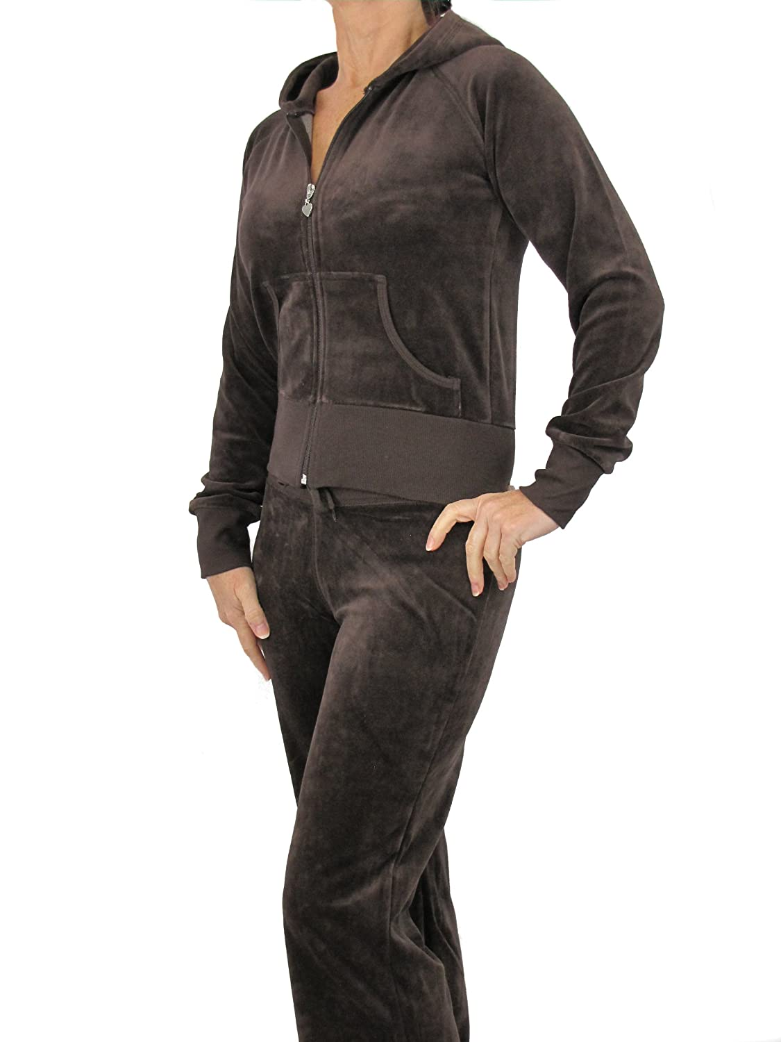 Love Lola® Womens Quality Velour Tracksuits Ladies Lounge Suits Hoodys Joggers Plus Sizes