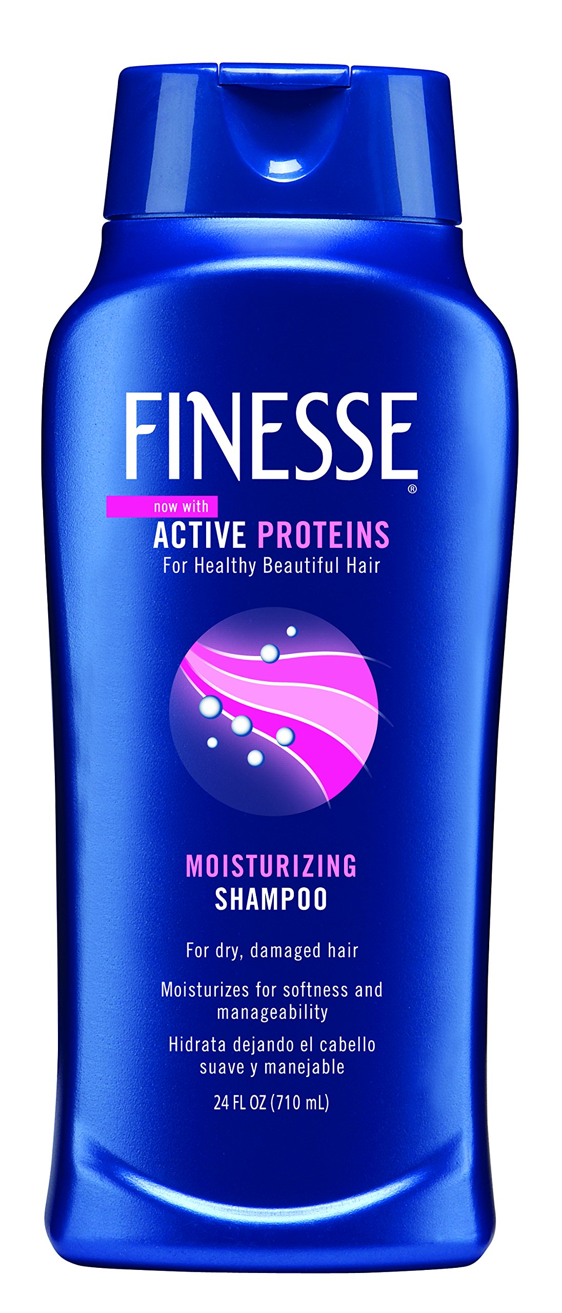 Finesse Moisturizing Shampoo, 24-Ounce (Pack of 3) by Finesse