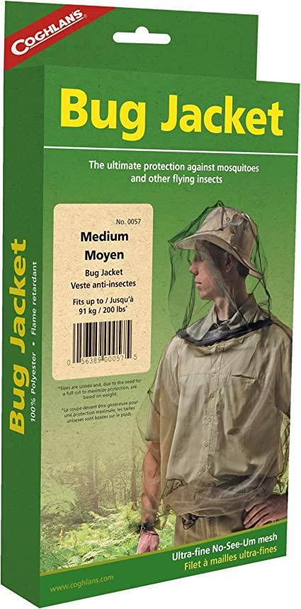 Coghlans Bug Jacket Taille M Veste Protection Moustiques Protection Insectes Moustiques Protection