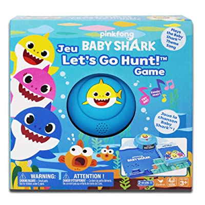 Pinkfong Baby Shark Let's Go Hunt Card Game: Toys & Games