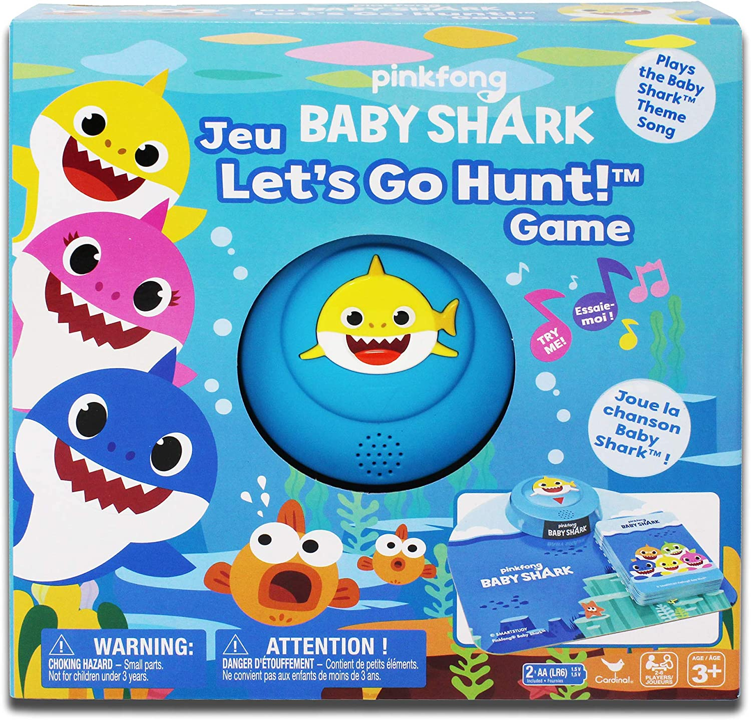 Pinkfong Baby Shark Let's Go Hunt Card Game