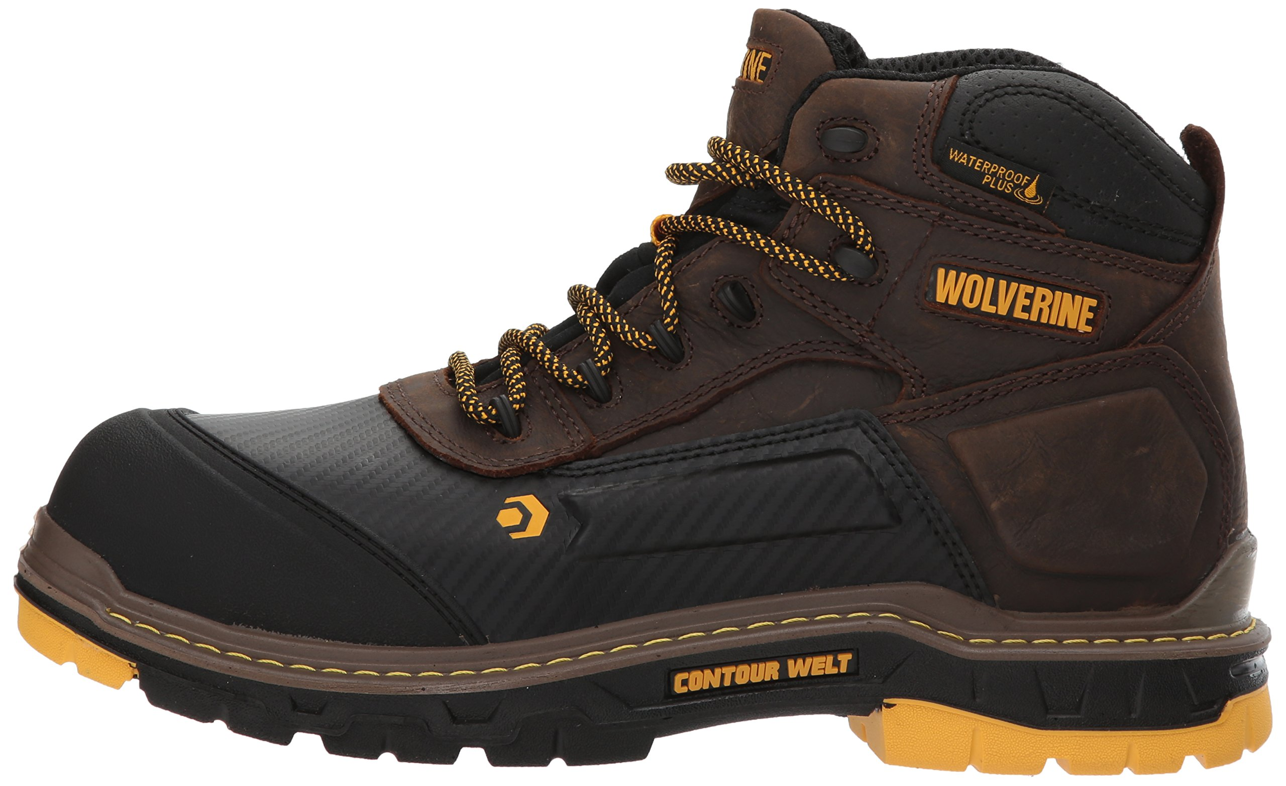 Wolverine Men's Overpass 6'' Composite Toe Waterproof Insulated Work Boot by Wolverine (Image #5)