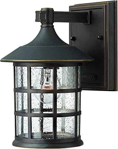 Hinkley 1800OZ Traditional One Light Wall Mount from Freeport collection in Bronze Darkfinish,