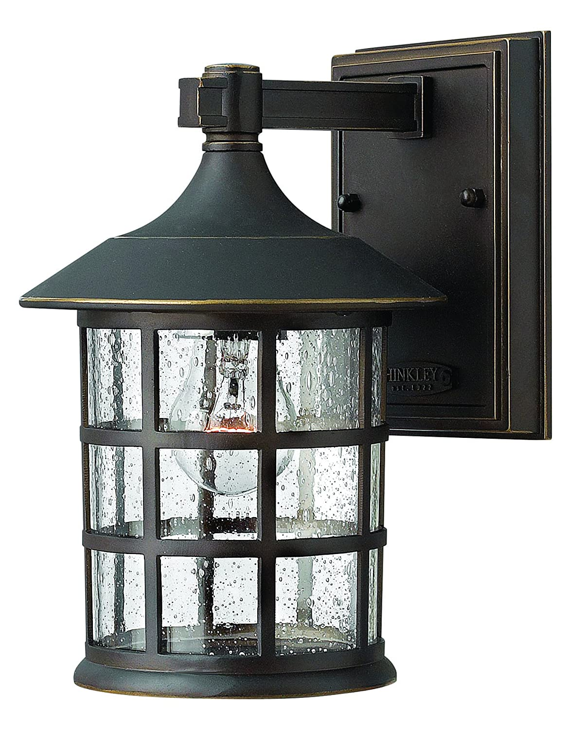 Hinkley 1800oz traditional one light wall mount from freeport hinkley 1800oz traditional one light wall mount from freeport collection in bronzedarkfinish wall porch lights amazon arubaitofo Image collections