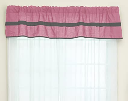 Baby Doll Bedding Soho Window Valance Pink