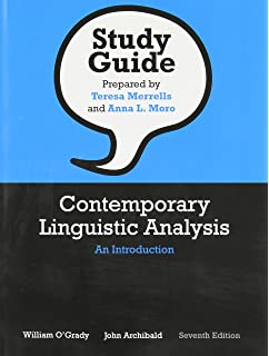 Amazon study guide for contemporary linguistics 9781319040895 study guide for contemporary linguistic analysis an introduction seventh edition fandeluxe Choice Image