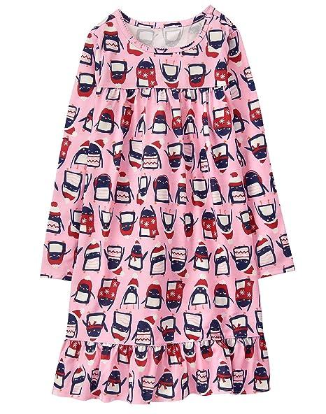 Amazon.com: Gymboree Little Girls pingüino sueño Gown, S ...