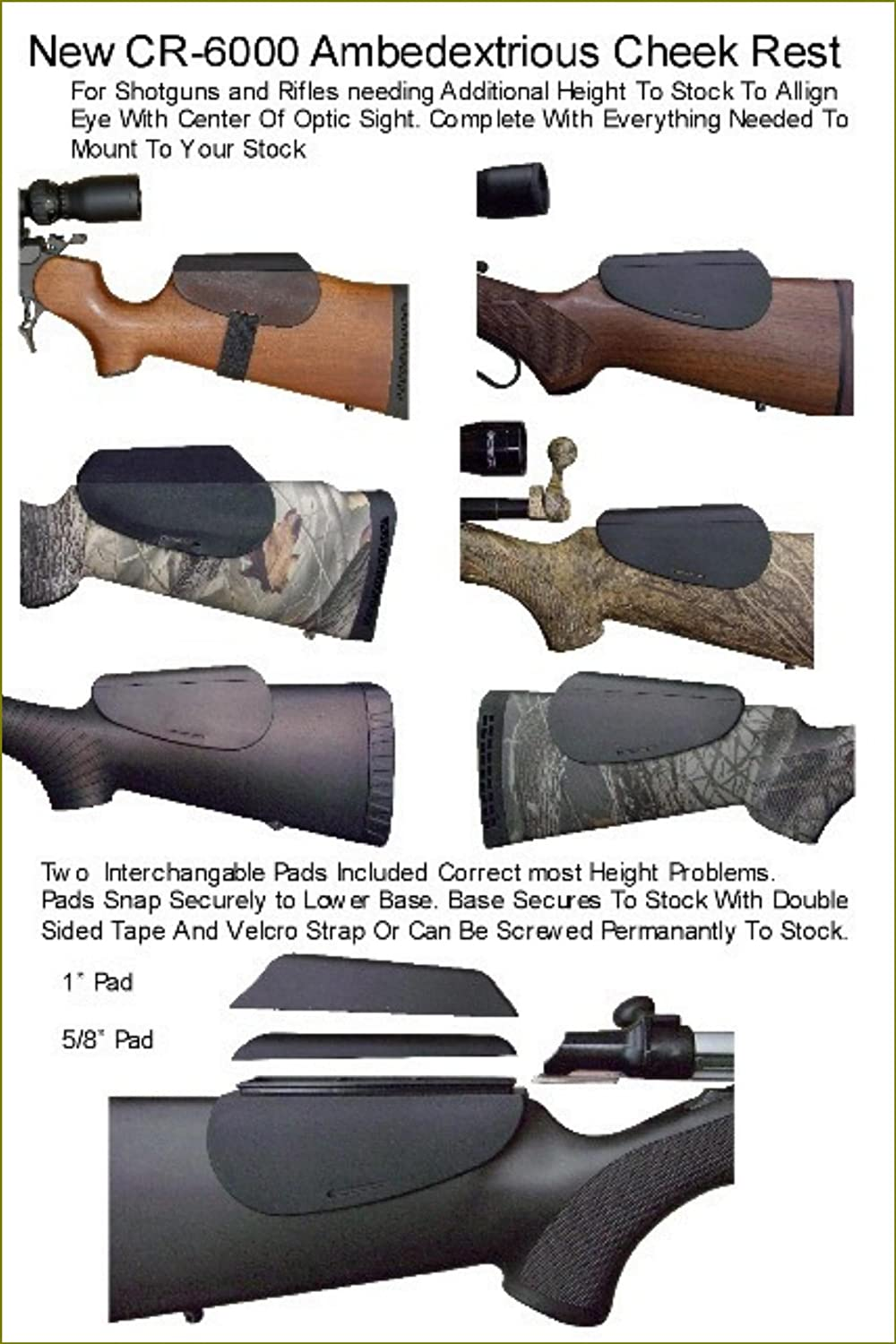 Warners Sporting Accu Riser Molded Black Cheek Rest Remington 870 Wingmaster Parts List Wallpapers Gun Stock Accessories Sports Outdoors