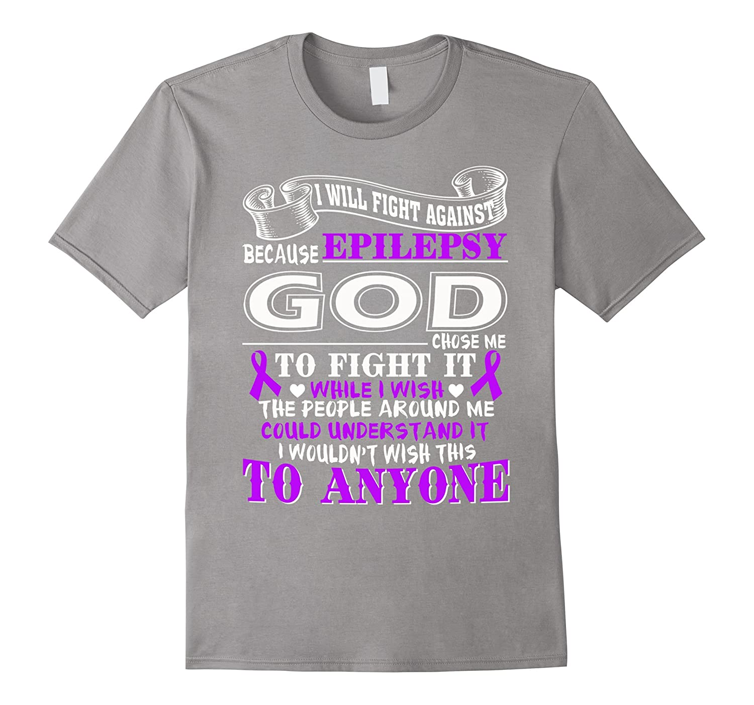 I will fight against epilepsy t shirt