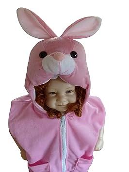 j36 W S. 80 - 86 Disfraz de Chaleco de conejo conejo conejito de ...