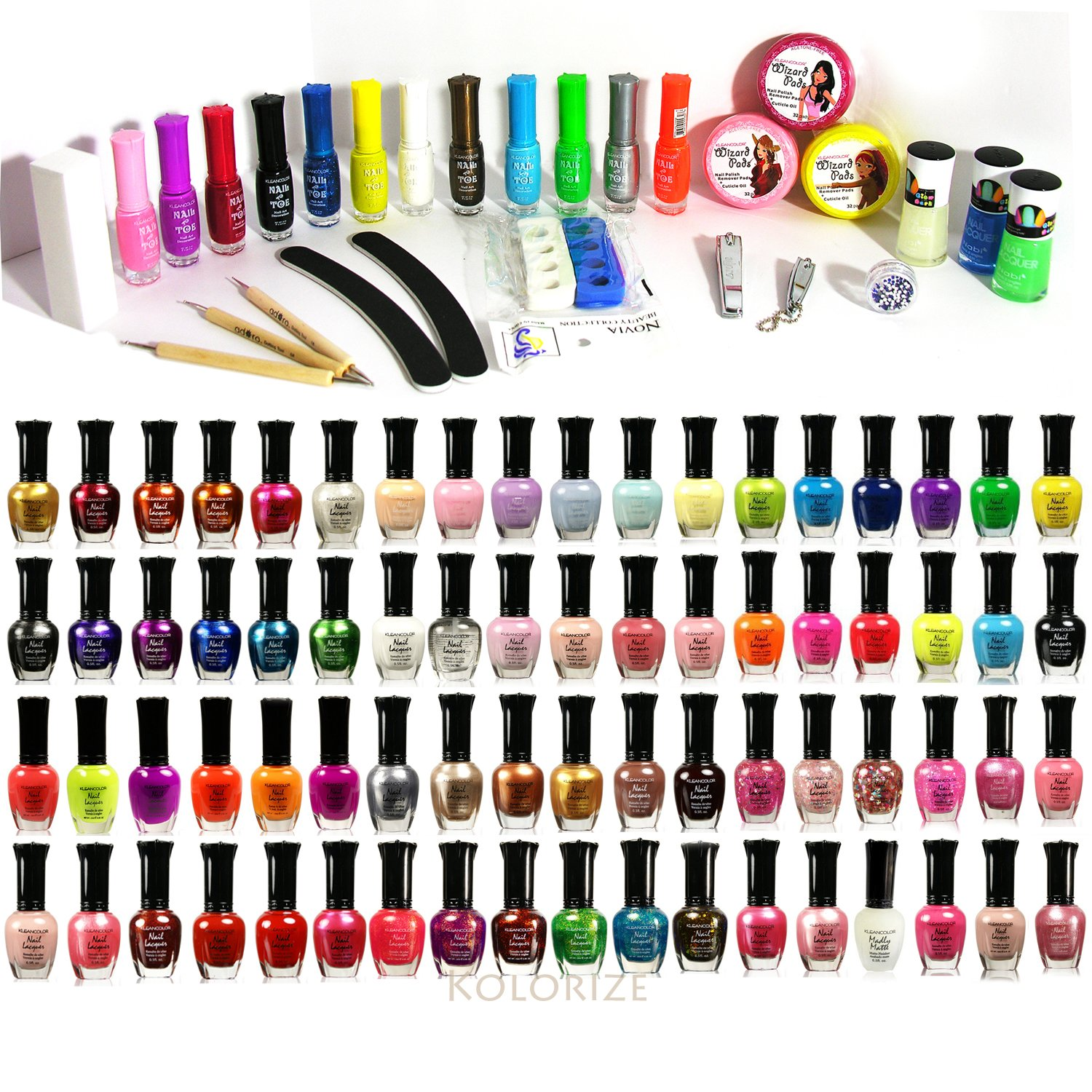 Amazon.com : 100-pc All About Nail Package - Assorted 100 Nail Set ...