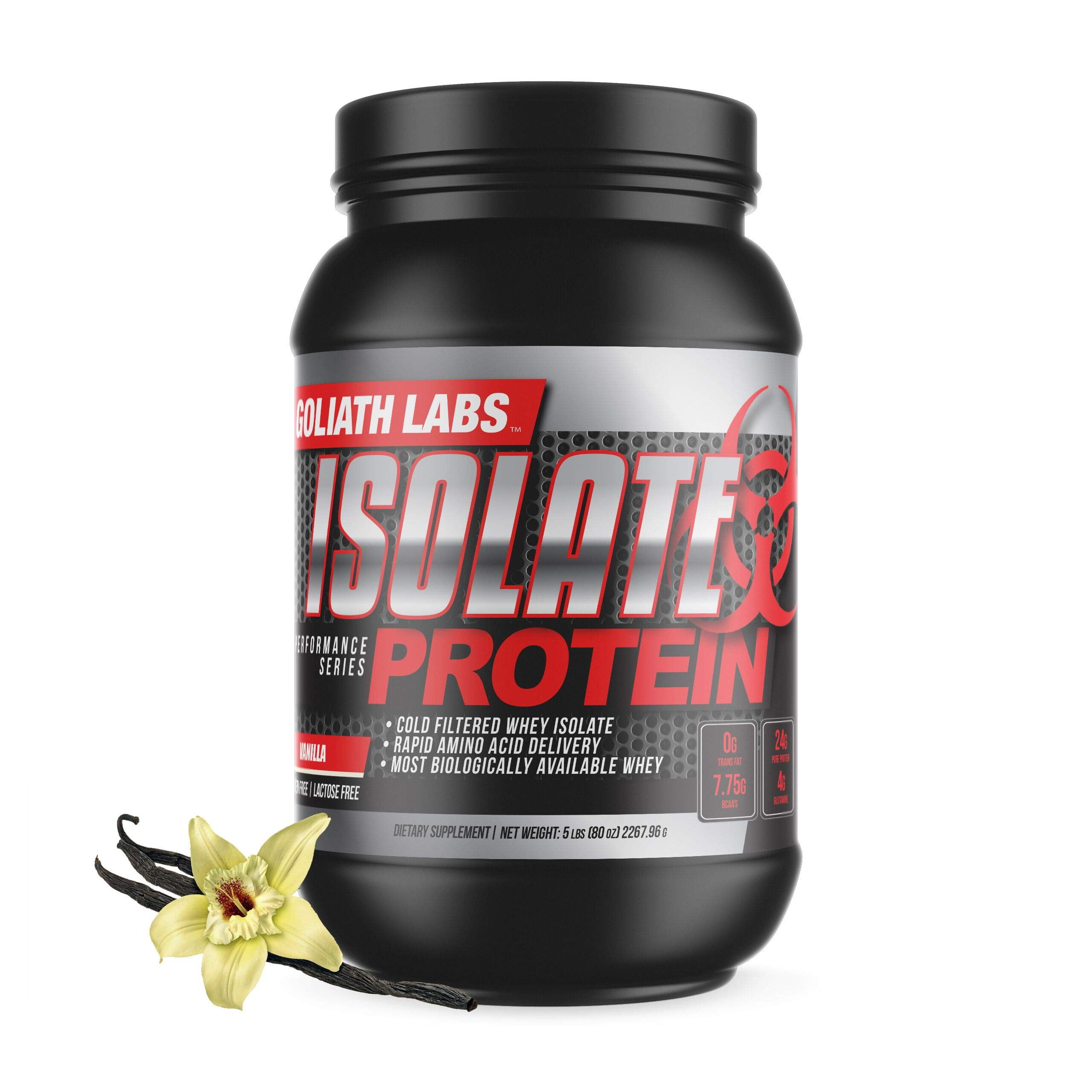 Goliath Labs Isolate Protein 5 Lbs (Vanilla) by Goliath Labs
