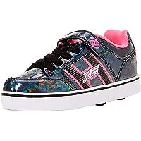 Heelys Unisex Kids Fitness Shoes, Multicolour (Black Hologram/Pink 000), 2 UK