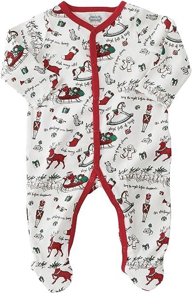 39d37a84a1 Amazon.com  Mud Pie Unisex Very Merry Sleeper (Infant)  Clothing