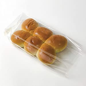 APQ Pack of 1000 Gusseted Poly Bags 6 x 3 x 12. Clear Polyethylene Bags 6x3x12. USDA Approved 2 Mil. Expandable Side Gusset Bags. Open Ended Bags for Industrial, Food Service, Health Needs.