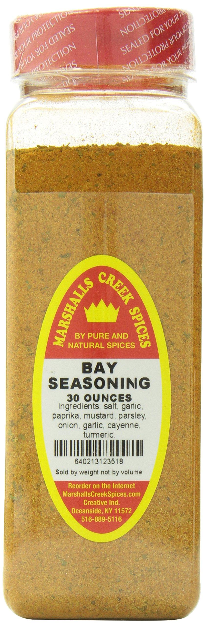 Marshalls Creek Spices Seasoning, Bay, XL Size, 30 Ounce