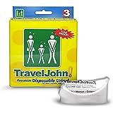 Travel John, Orinatoio usa e getta da viaggio, 3 pz.