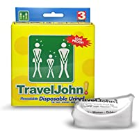 Travel John - Lot de 3 Sachets Urines