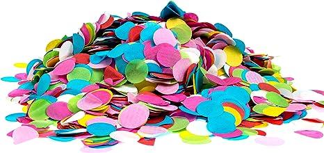 Confetti Kings - Confeti de papel redondo, biodegradable, alta ...