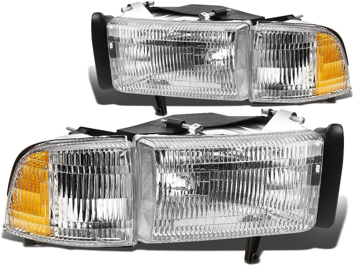 94-01 Dodge Ram 1500 Truck without sport package Cornerlight Pair Set 94-02 Dodge Ram Truck 2500 and 3500 without sport package Driver and Passenger