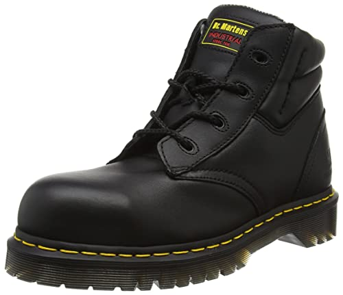 Dr. Martens Industrial Men's Icon SB E Safety Boots Black,6 UK (39