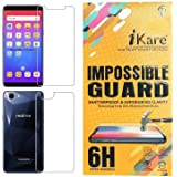 iKare Unbreakable, Flexible Front and Back Tempered Glass for Oppo Realme 1 (Transparent)