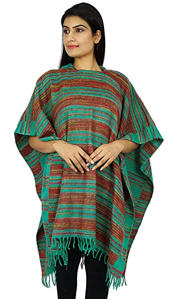 top-rated on feet images of lovely design ibaexports Wool Blend Poncho With Hood Winter Wear Long Top ...