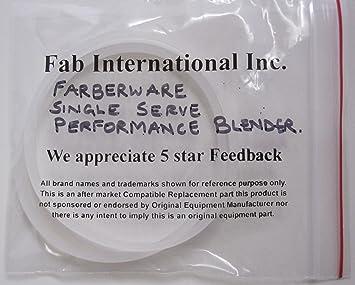 Fab internacional Farberware single-serve rendimiento licuadora juntas 2 unidades: Amazon.es: Hogar