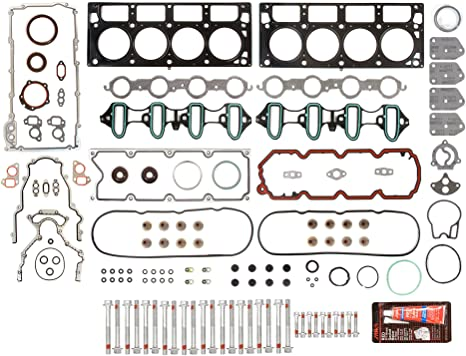 Evergreen FSHB8-10448L Full Gasket Set Head Bolt
