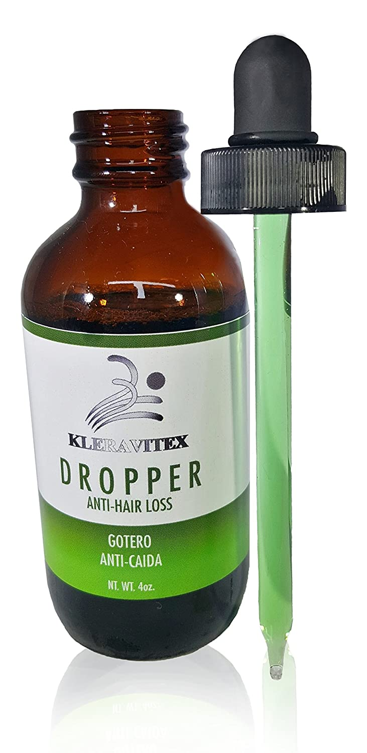 Amazon.com : Kleravitex Anti-Hair Loss Dropper - Natural Hair Growth Serum For Thinning Hair, Baldness & Dandruff - Nourishing Hair Scalp Treatment Lotion ...