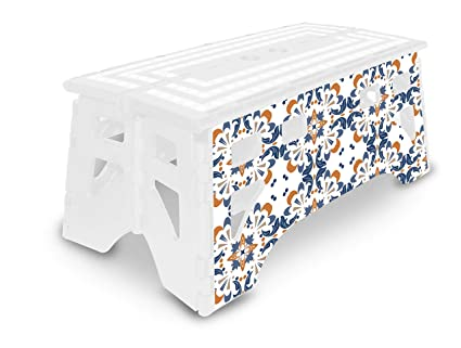 Amazing Expace Folding Step Stool 20 Inch Extra Wide Heavy Duty Non Slip For Indoor And Outdoor Use Adults And Kids Up To 500Lb Seamless Gmtry Best Dining Table And Chair Ideas Images Gmtryco