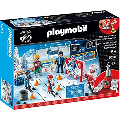 PLAYMOBIL NHL Advent Calendar - Road to The Cup: Toys & Games