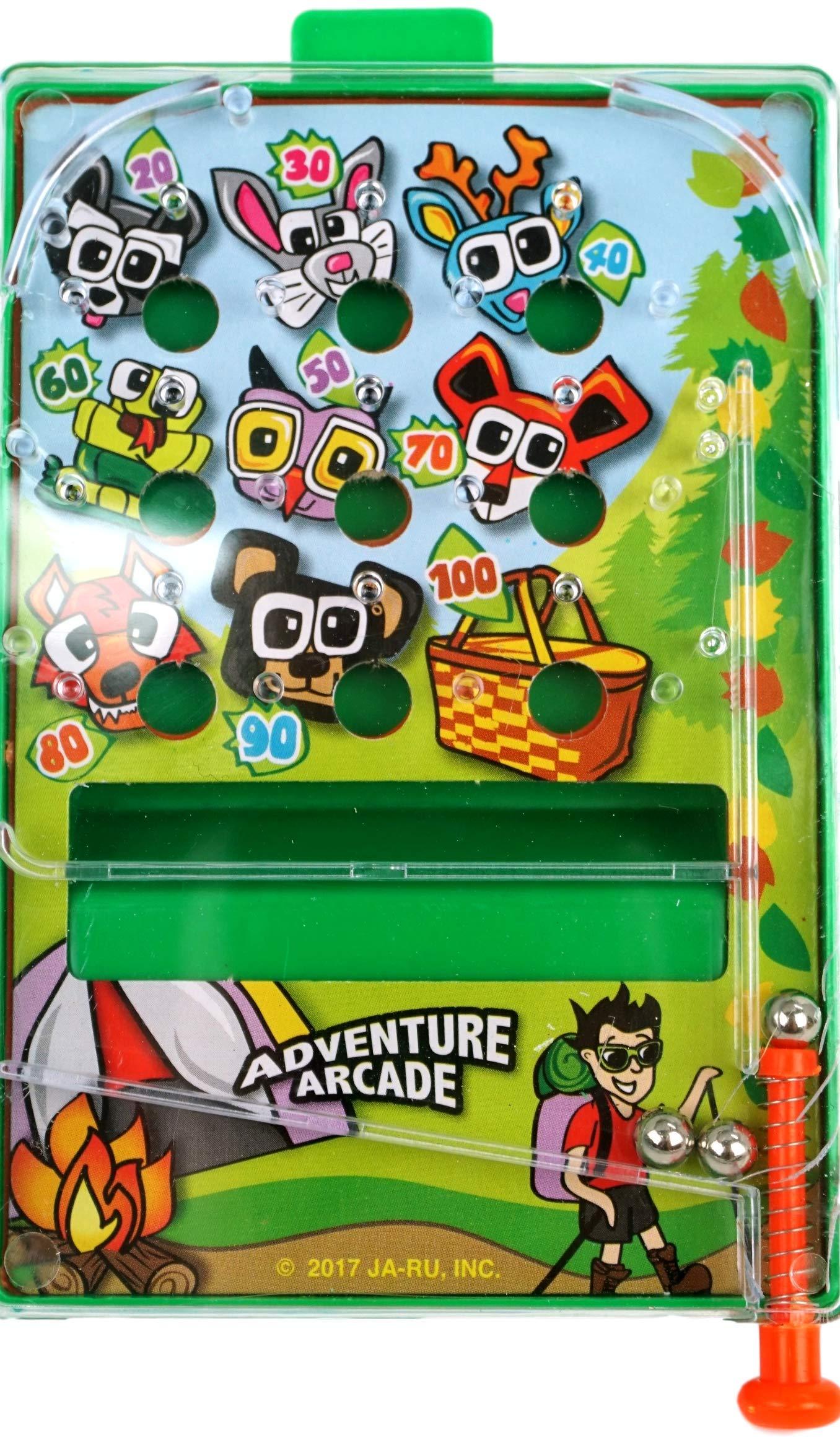 JA-RU Pinball Pocket Travel Game (144 Units) and one Bouncy Ball Item #3258-144p by JA-RU (Image #3)