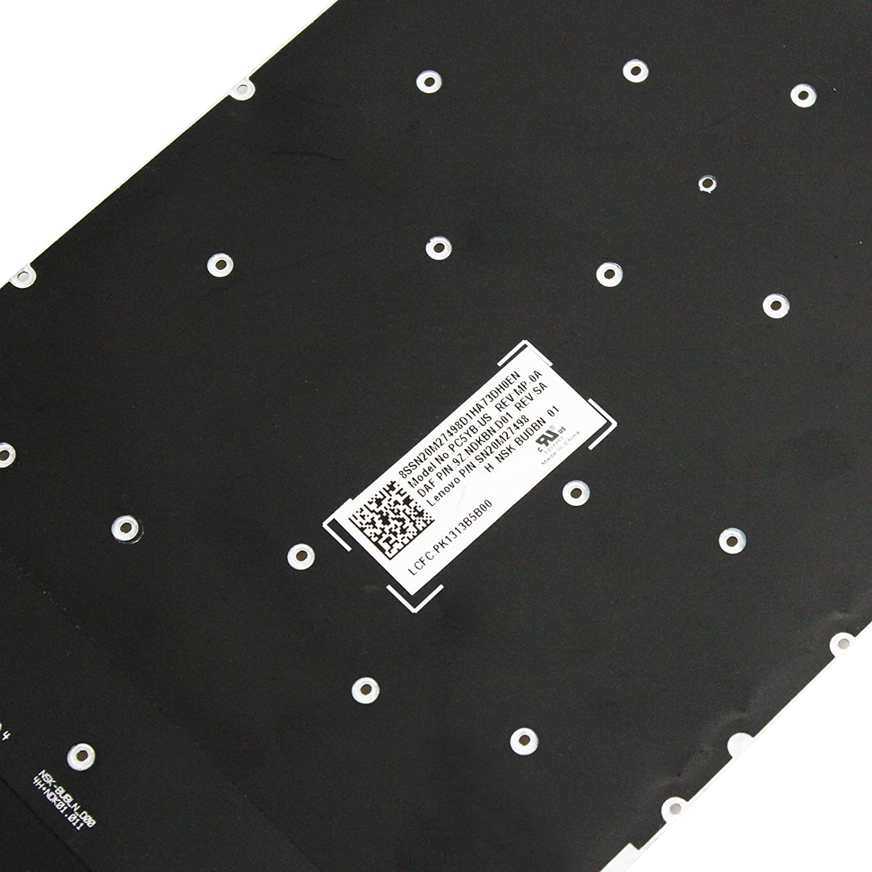 GinTai New US Keyboard Replacement for Lenovo Legion Y520-15IKBN Y720-15IKB w//Backlight