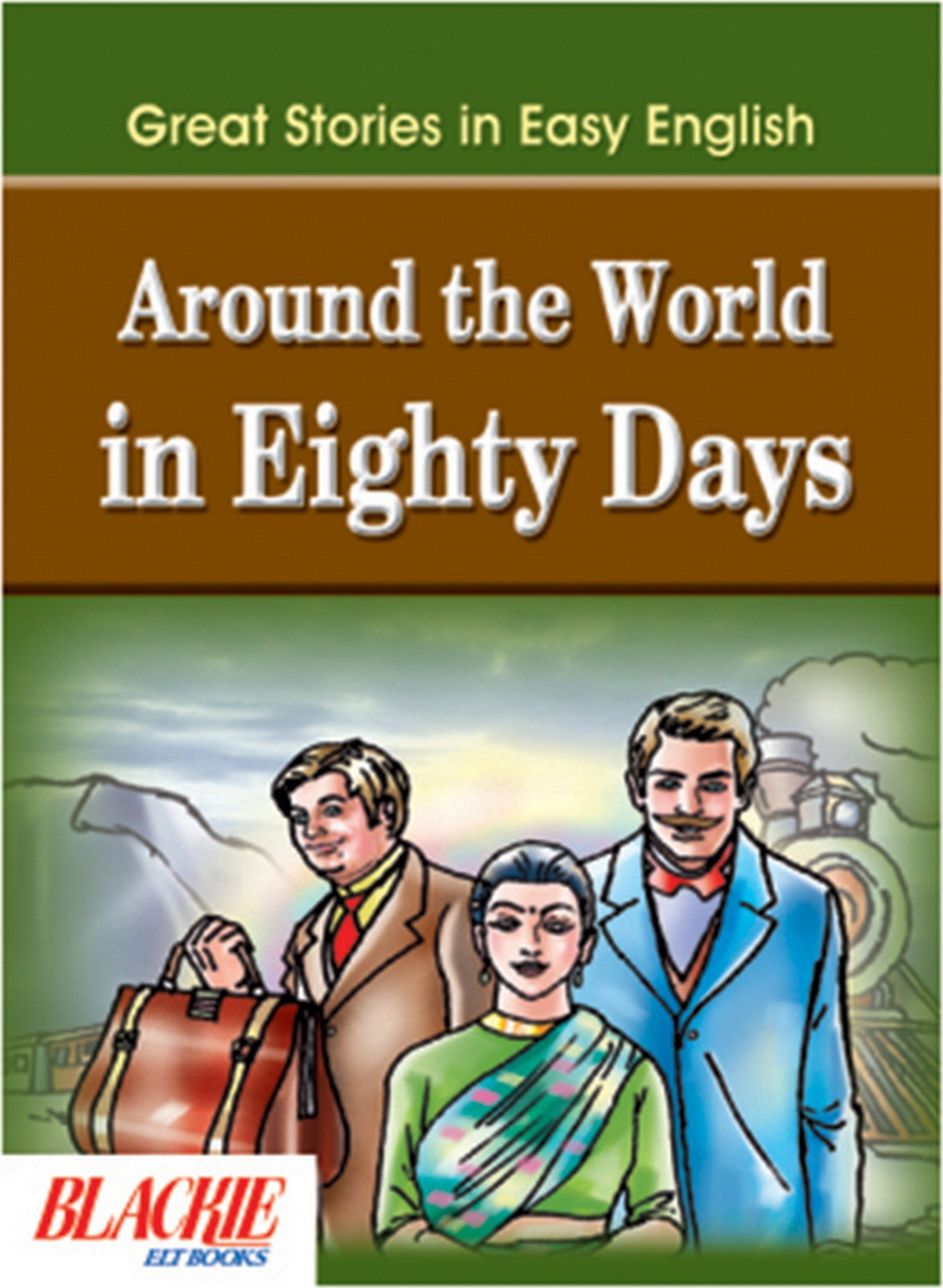 Download Round the World in Eighty Days (Great Stories in Easy English) pdf