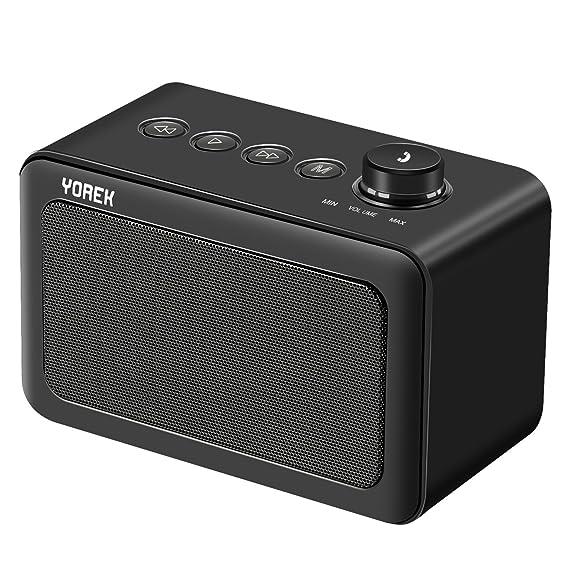 Review Yorek Portable Bluetooth Speaker