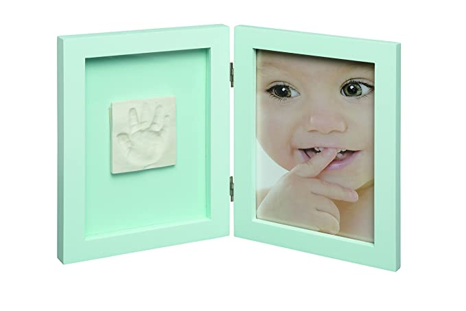 My Sweet Memories 2-Piece Picture Frame for Picture and Baby Print White