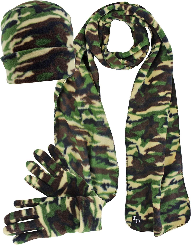 Camouflage Fleece Scarf...