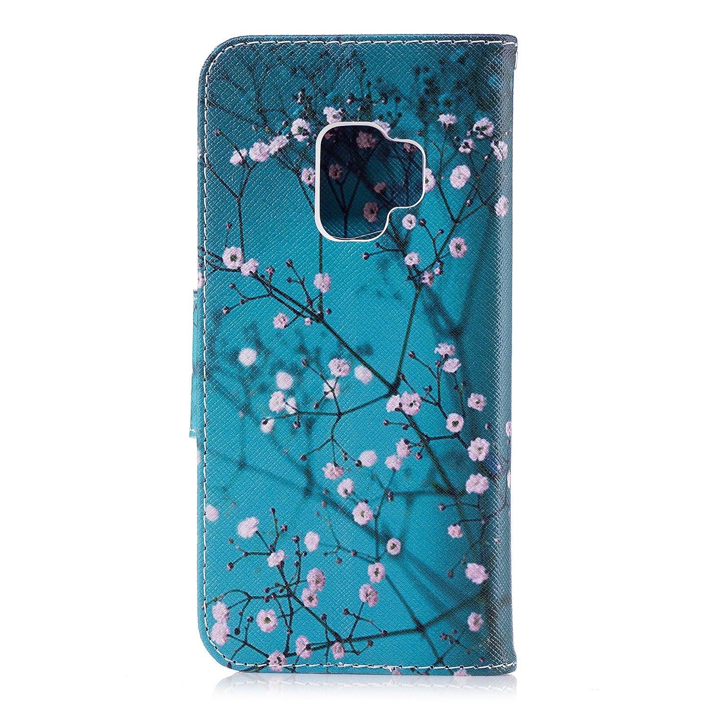 Wholesale 100pcs/lot Bear Butterfly Multi-patterns Flip Leather Case for Samsung Galaxy S9/S9 Plus/S8/S8 Plus/S7/S7E/S6/S5 etc (Multi-Color) by Vfunn (Image #9)