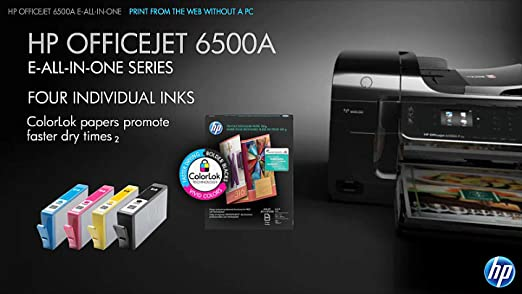Amazon HP Officejet 6500A Plus E All In One CN557AB1H Electronics
