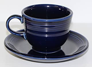 product image for Fiesta Coffee Cup and Saucer Set 8oz tea fiestaware (cobalt)