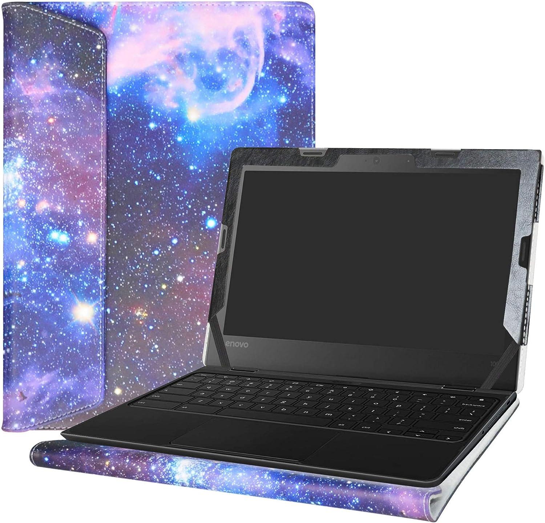 """Alapmk Protective Case Cover For 11.6"""" Lenovo 500e Chromebook 2nd Gen& 300e Chromebook 2nd Gen& 100e Chromebook 2nd Gen Laptop(Warning:Not fit Lenovo 100e Windows&300e Windows 1st Gen),Galaxy"""