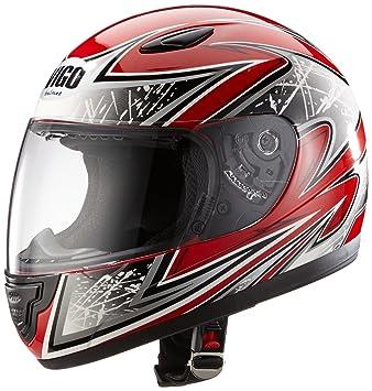 Protectwear Casco de moto de los niños rojo SA03-RT Tamaño XS (juventud L