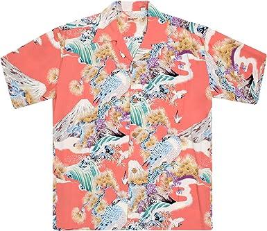 Sun Surf SURF8592 - Camisa hawaiana para hombre Rojo rosso L ...
