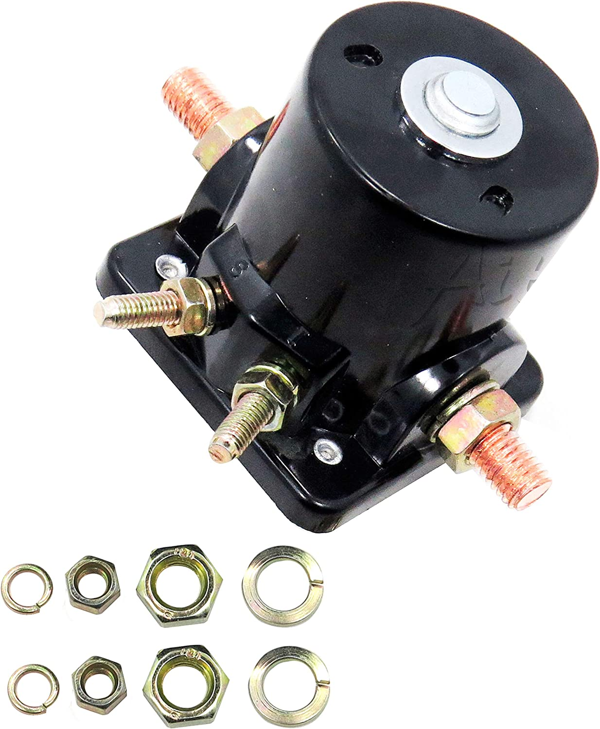 Aitook Starter Solenoid Relay Compatible with OMC Evinrude 35HP Motor 1976-1986