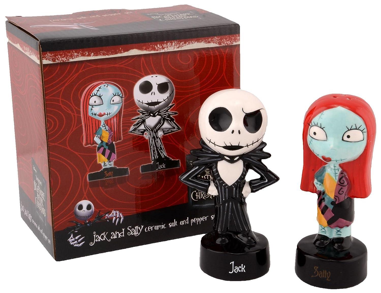 Amazon.com: Nightmare Before Christmas Jack and Sally Salt and ...